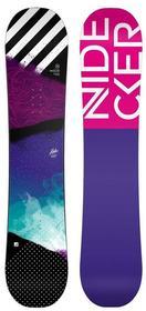 Nidecker snowboard Snowboard Flake Blue BLUE)