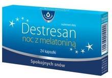 Oleofarm Destresan noc z melatoniną, 24 kaps. Oleofarm