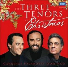 The Three Tenors At Christmas CD) Jose Carreras Luciano Pavarotti Placido Domingo