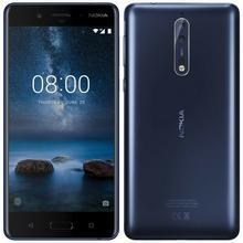Nokia 8 (niebieski matowy) - Raty 20 x 67,45 zł - szybka wysyłka! | Darmowa dostawa