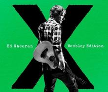 X Wembley Edition CD+DVD Ed Sheeran