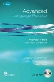 Macmillan Advanced Language Practice Student Book with Key and CD ROM