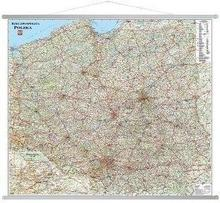 zbiorowa Praca Polska. Mapa ścienna samochodowa 1:650 000 / wysyłka w 24h