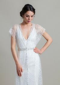 Ramantyczna suknia ślubna