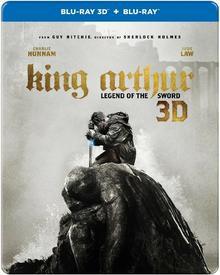 Warner Bros Entertainment Król Artur: Legenda miecza 3D (Steelbook)