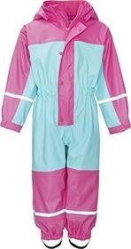 Playshoes Baby-dziewczęcy strój do kurtka przeciwdeszczowa wodoodporny-kombinezon ochronny, deszczownica z podszewką z polaru, reflektory -  104 B074RQNHCM