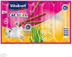 VITAKRAFT Vitakraft Cat Stick Mini Kurczak i Trawa 3 x 6g KVIT011