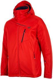 4F Kurtka narciarska męska KUMN253z czerwony [D4Z17-KUMN253] KUMN253 czerwony