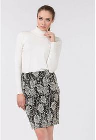 Monnari Wzorzysta spódnica black&white