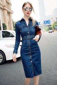 Sukienka jeansowa KSENIJA 005014-64