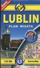 Lublin 1:20 000 mapa kieszonkowa / wysyłka w 24h