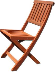 Krzesło drewniane składane - Villa Toscana 88189