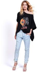 Robert Kupisz Q T-shirt damski Desert Wind Oasis czarny