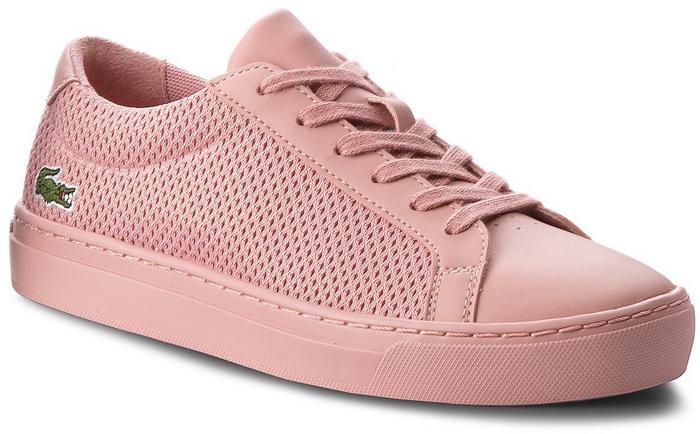 Lacoste Sneakersy L.12.12 318 2 Caj 7-36CAJ001213C Pnk Pnk - Ceny i opinie  na Skapiec.pl 63f53877915