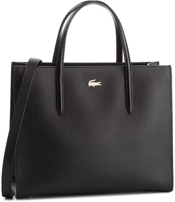 38779798124c9 Lacoste Torebka L Shopper Bag NF2563CE Black 000 - Ceny i opinie na  Skapiec.pl