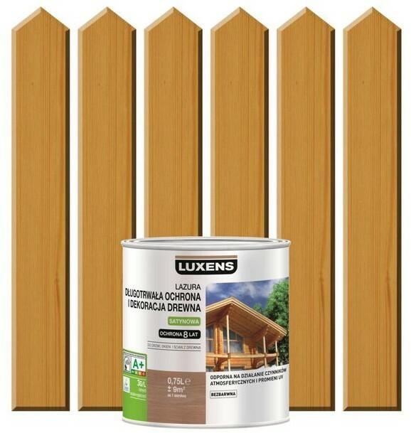 Luxens Lazura Do Drewna Długotrwała Ochrona I Dekoracja