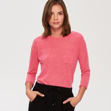 Sinsay Sinsay - Lekki sweter - Różowy