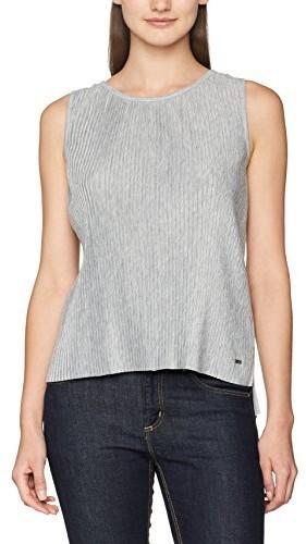 Tom Tailor Denim Top damski plissée S-less - 42 (rozmiar producenta ... cada1f371e