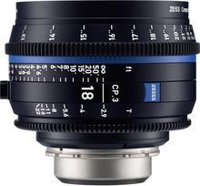 Carl Zeiss CP.3 18mm T2.9 Cine Compact Prime Nikon F