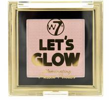 W7 Lets Glow Illuminating Pressed Powder Puder Rozświetlający PR-1