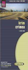 Reise Know How Krym mapa 1:340 000 Reise Know-How