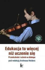 Edukacja to więcej niż uczenie się - Andreas Neider