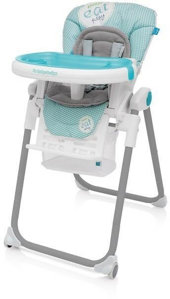 Baby Design Lolly krzesełko do karmienia 05 turkus wysyłka 24h + PREZENT Enova34022