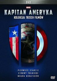 Galapagos Pakiet Kapitan Ameryka. Pierwsze starcie / Zimowy żołnierz / Wojna bohaterów, 3 DVD Joe Johnston / Anthony Russo, Joe Russo