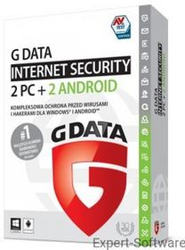 GData Software Internet Security 2017 2PC + 2Mobilne / 1Rok