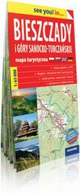 ExpressMap praca zbiorowa see you! in Bieszczady i Góry Sanocko-Turczańskie. Papierowa mapa turystyczna 1:65 000