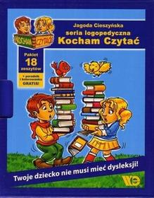 Wydawnictwo Edukacyjne Kocham czytać. Pakiet 18 książeczek - Praca zbiorowa
