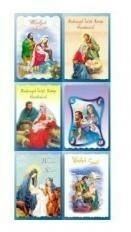 Top Graphic Karnet B6 Boże Narodzenie Hologram religia 10 sztuk) mix