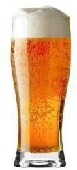 Krosno Glass Szklanki kufle do piwa Basic Glass 300 ml Glass 6 szt F687335030004000