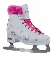SFR Snowflake retro łyżwy biało-różowy dziewczyna SFR018