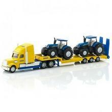 Siku Ciężarówka z traktorami New Holland 1805
