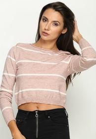 Renee Różowy Sweter Dilate