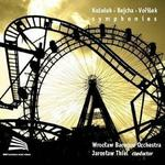 Kozeluh Rejcha Vorisek Symphonies CD) Wrocławska Orkiestra Barokowa