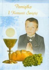 Pamiątka I Komunii Świętej /niebieska/