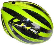 Lazer HELIUM kask rowerowy szosowy fluor + aeroshell