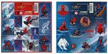 Derform  Nalepki 16x16 Spider-Man Homecoming (25szt) DERFOR