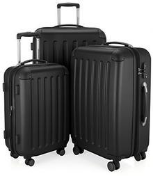 Hauptstadtkoffer HAUPTSTADTKOFFERspreebagaż podręczny Walizka Wózek na kółkach walizka walizka podróżna, TSA Hardshell, kolor: czarny 40021416