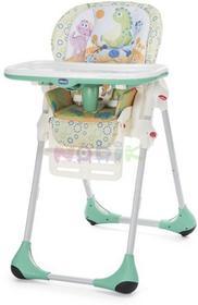 Chicco Krzesełko do karmienia Polly 2w1 + GRATIS dinofood) 12h