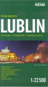 zbiorowa Praca Lublin 1:22 500 plan miasta PIĘTKA / wysyłka w 24h