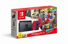 Nintendo Switch Czerwony + Super Mario Odyssey