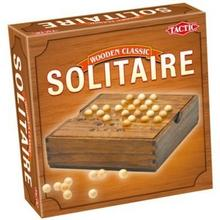 Tactic Wooden Classic - SOLITAIRE 14025
