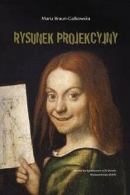 WAM Maria Braun-Gałkowska Rysunek projekcyjny