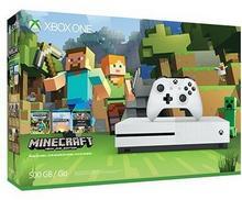 Microsoft Xbox One S 500GB Biały + Minecraft + 6 Msc Xbox Live