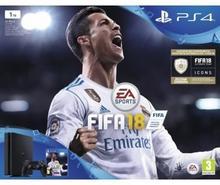 Sony PlayStation 4 slim 1TB Czarny + FIFA 18