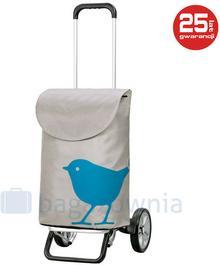 Andersen Wózek na zakupy Alu Star Bird 115-102-90 Turkusowy - turkusowy 115-102-90