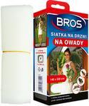 BROS Moskitiera na drzwi Bros biała 140x220cm
